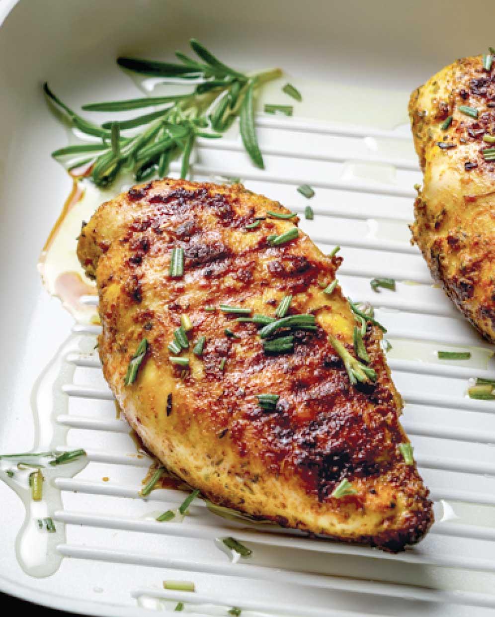 Lemon-Rosemary Chicken Breast