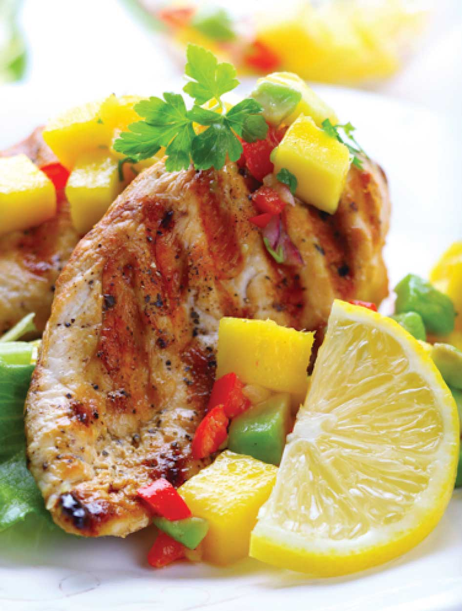 Lime Marinated Grilled Chicken Breasts