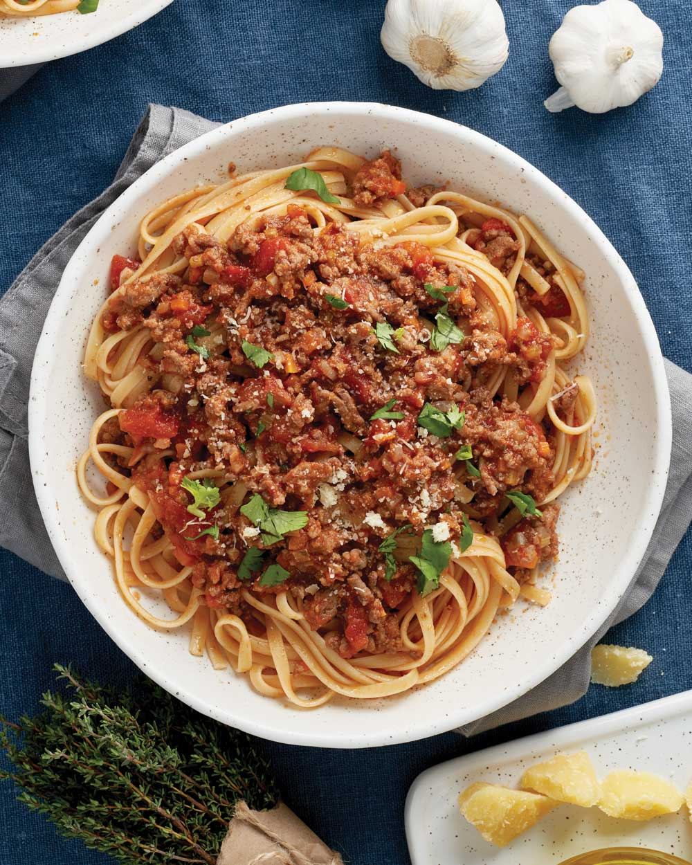 Linguine with Bell Peppers and Sausage