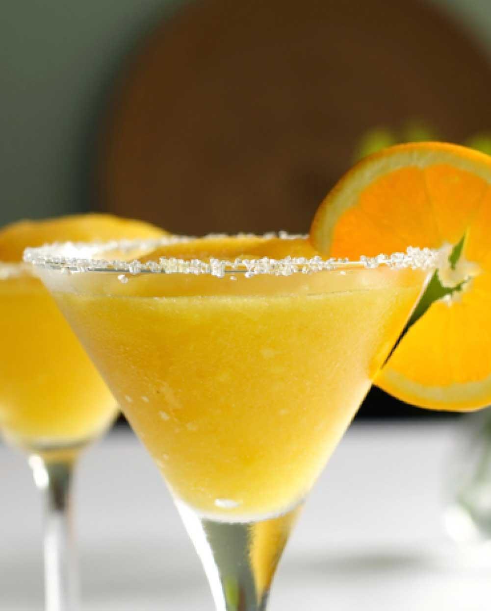 Mango-Pineapple Frozen Margaritas