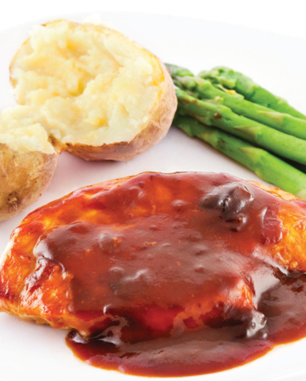 Marinated Spicy BBQ Chicken