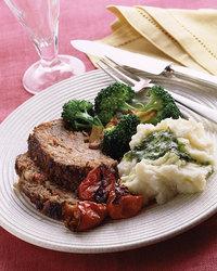 Sunday Supper Meatloaf with Roasted Vegetables