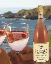 Moshin Vineyards 2016 Rose of Pinot Noir