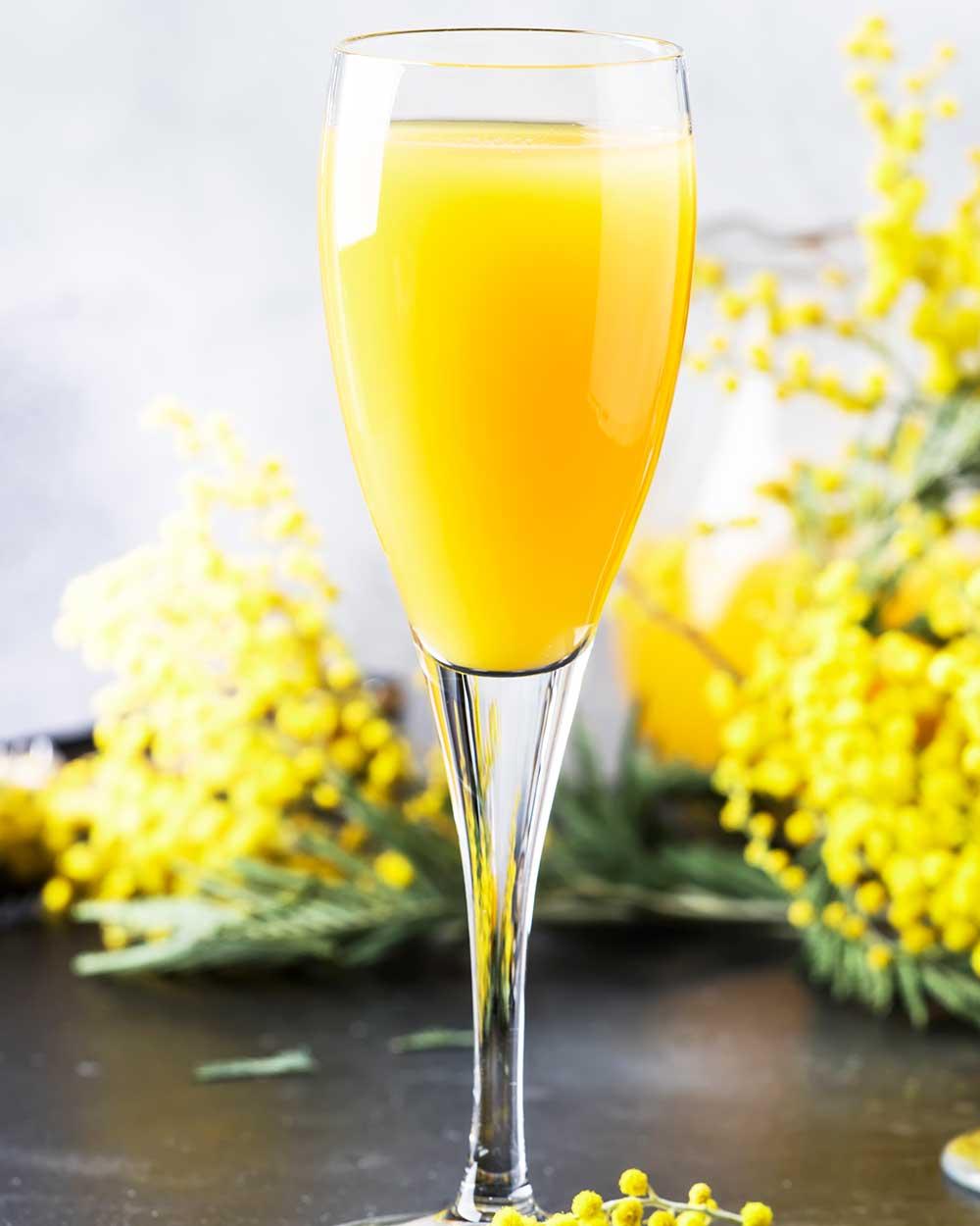 Orange Lemon Mimosas