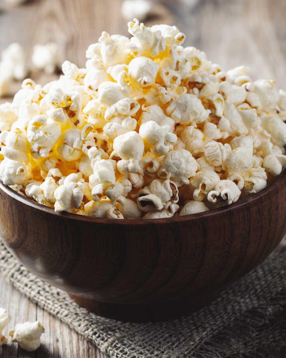 Parmesan-Garlic Popcorn