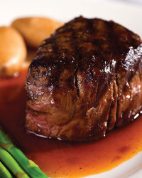 Filet Mignon Marinated In Burgundy Sauce