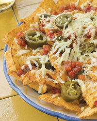 Cheesy Pulled Pork Nachos