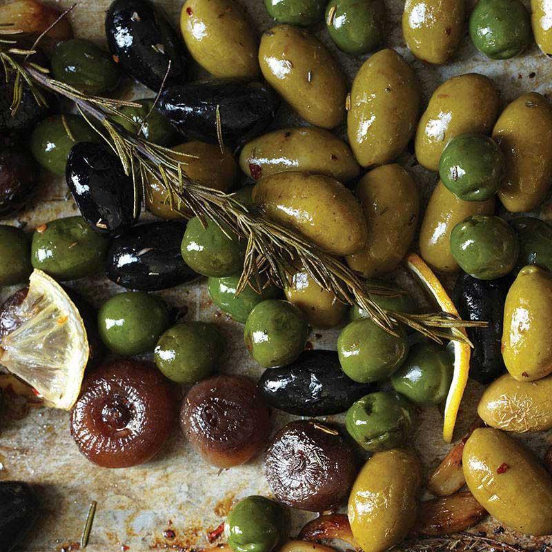 Herb-Roasted Olives