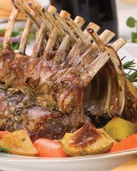 Honey-Glazed Rack of Lamb