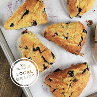 Blueberry Cream Scones