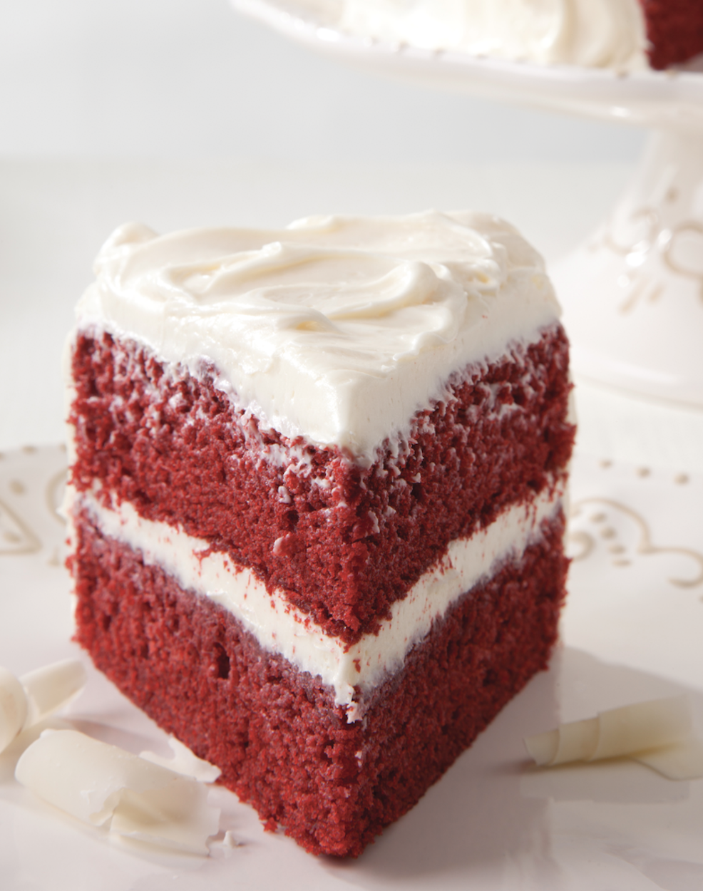 Red Velvet Cake with Vanilla Cream Cheese Frosting