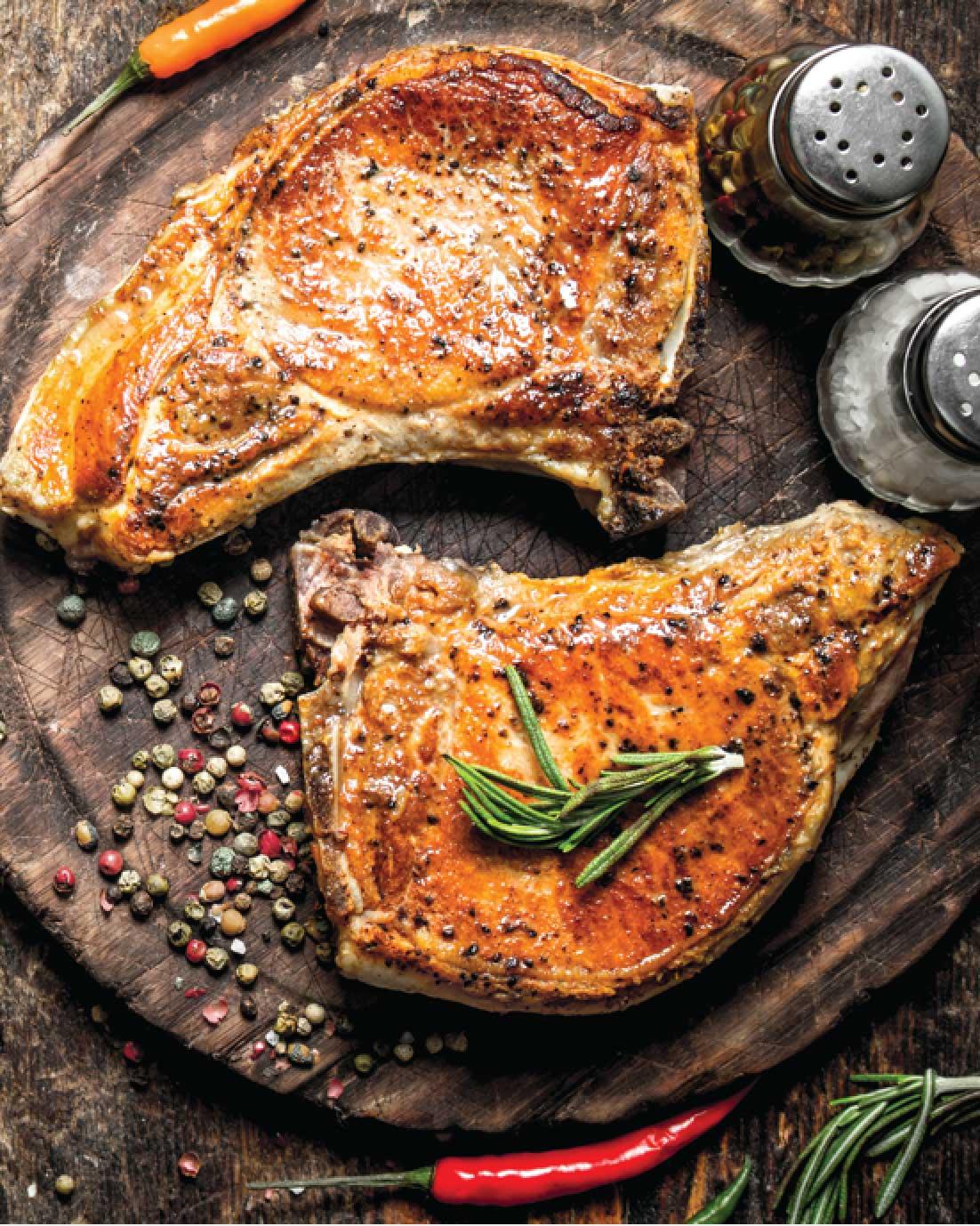 Salt and Pepper Pork Chops