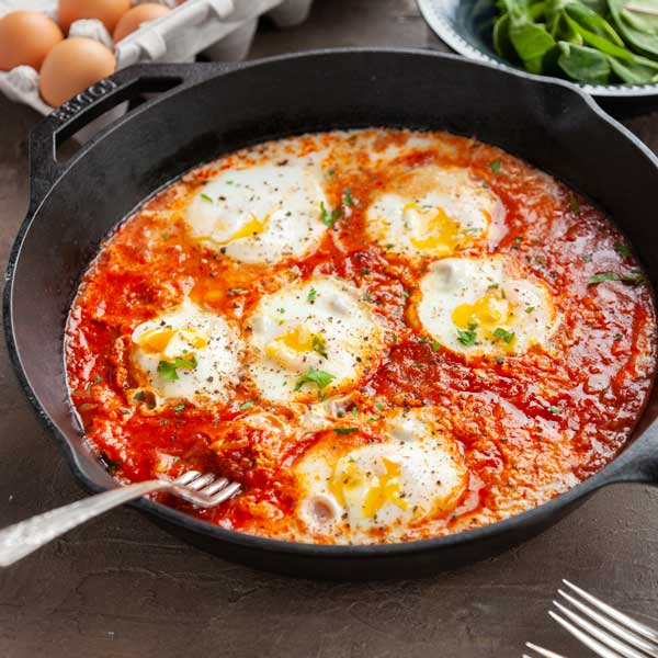 Eggs in Shakshuka