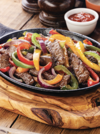 Easy Skillet-Cooked Steak Fajitas