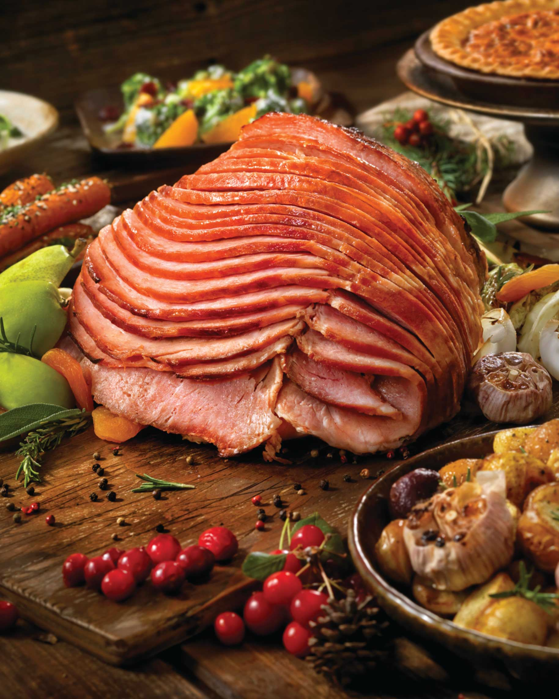 Slow Cooked Maple and Brown Sugar Ham