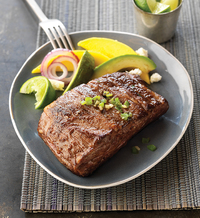 Ribeye Steaks with Lime-Spice Rub