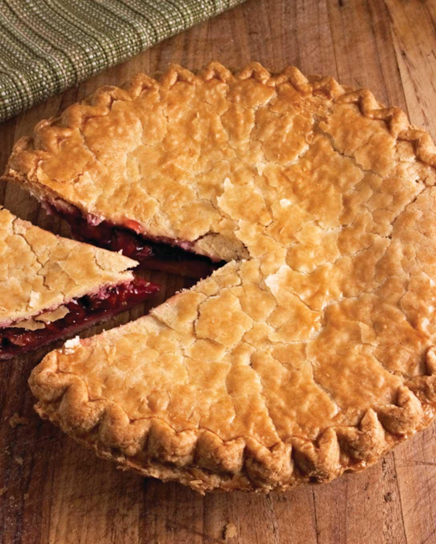 Sweet Bing Cherry Pie