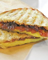 Sweet and Salty Grilled Cheese Sandwich