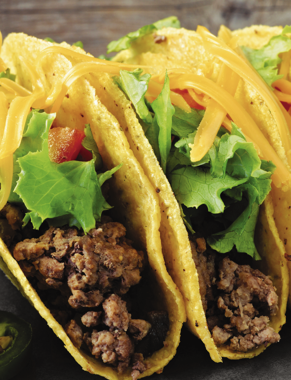 Crunchy Beef Tacos