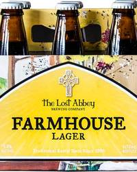 The Lost Abbey Farmhouse Lager