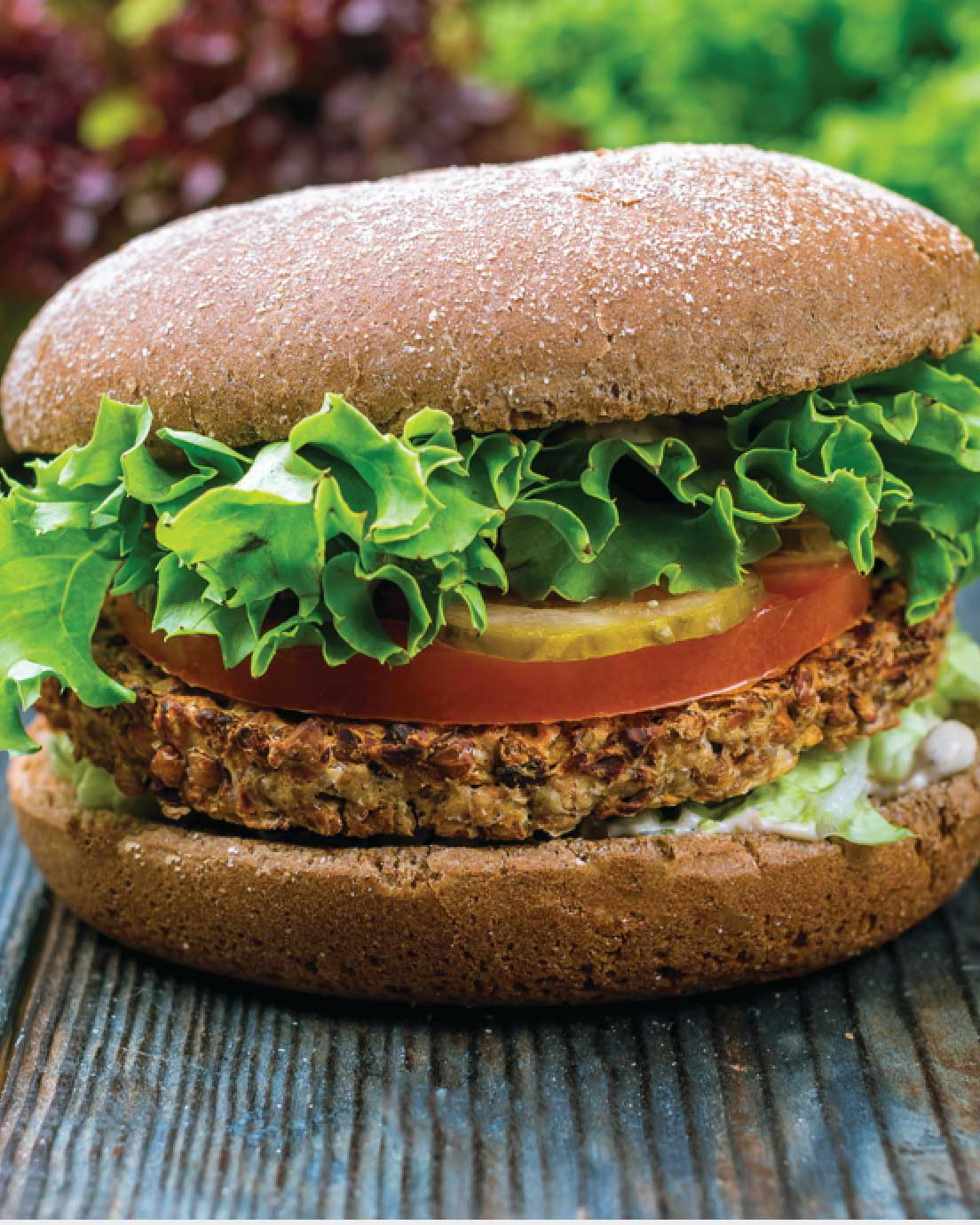 The Tastiest Veggie Burger