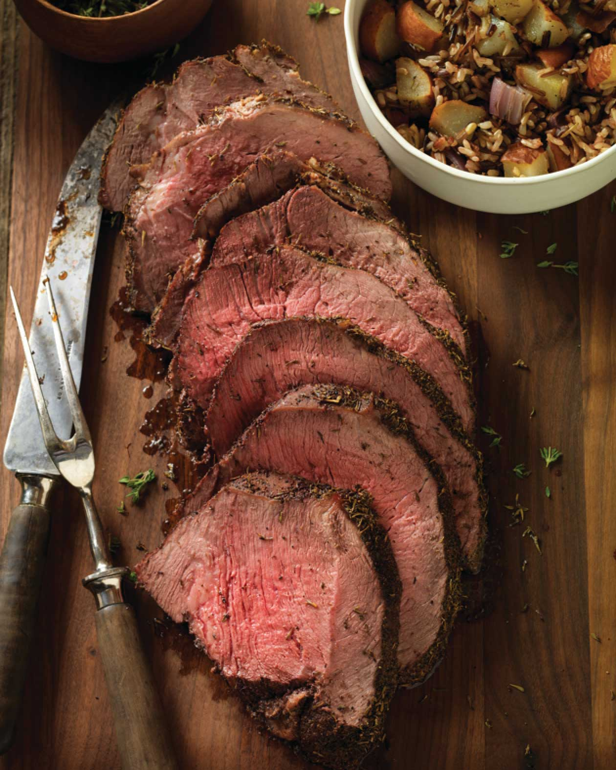 Herb Crusted Round Tip Roast
