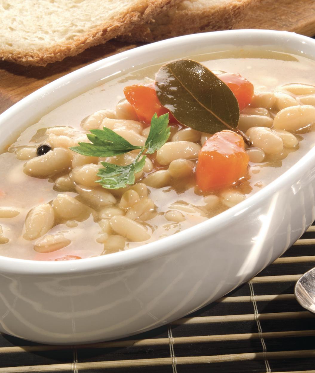 White Bean Soup with Seasoned Ham