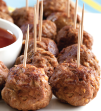 All-Star Pork Meatballs