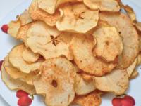 Homemade Red Apple Chips