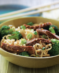 Beef and Broccoli with Noodles