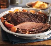 Baked BBQ Beef Brisket