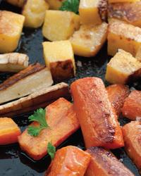 Lemon Carrots and Rutabaga
