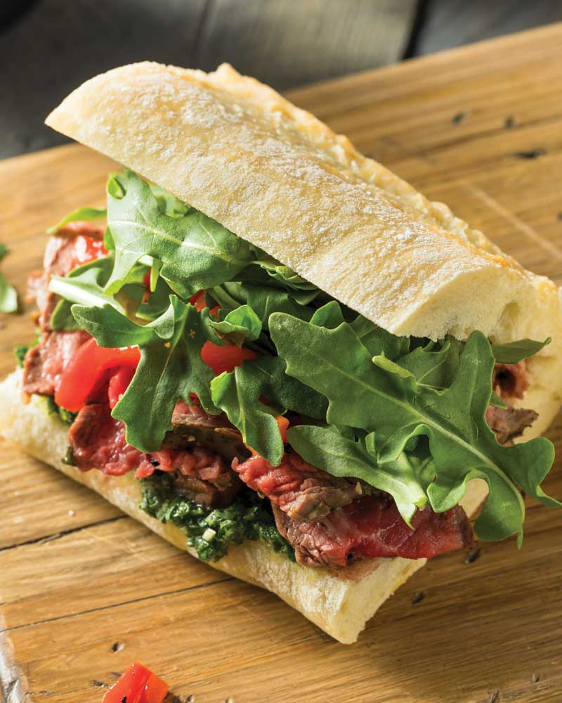 Grilled Tri-Tip Sandwiches