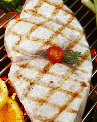 Simple Grilled Swordfish