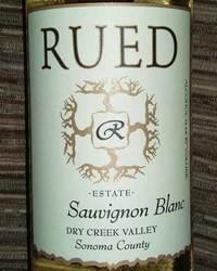 Rued 2015 Sauvignon Blanc
