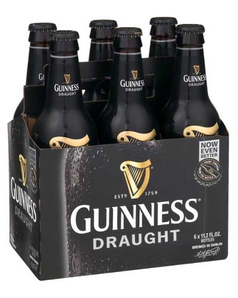 Guinness Draught Stout 6 Pack