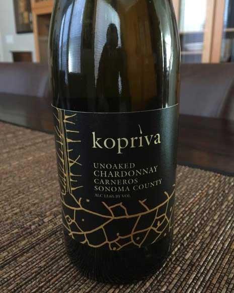 Kopriva Chardonnay Unoaked 2015 Carneros