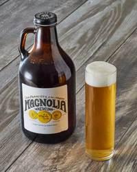 Magnolia Brewing Company Kolsch style or IPA