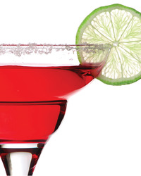 Sweet and Sour Pomegranate Margaritas