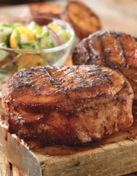 Pork Chops with Asian-style Marinade