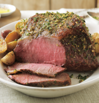 Eye of Round Roast with Vegetables
