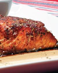 King Salmon on a Cedar Plank
