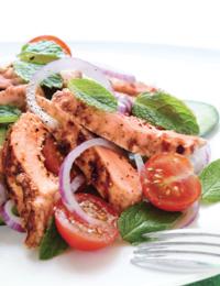 Easy Chopped Salmon Salad