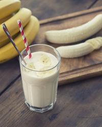 Banana, Honey and Yogurt Smoothie