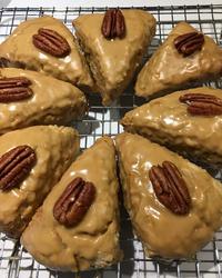 Maple Oat Nut Scones