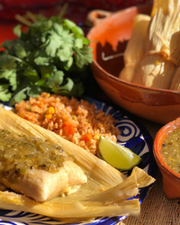Green Chili & Cheese Tamales